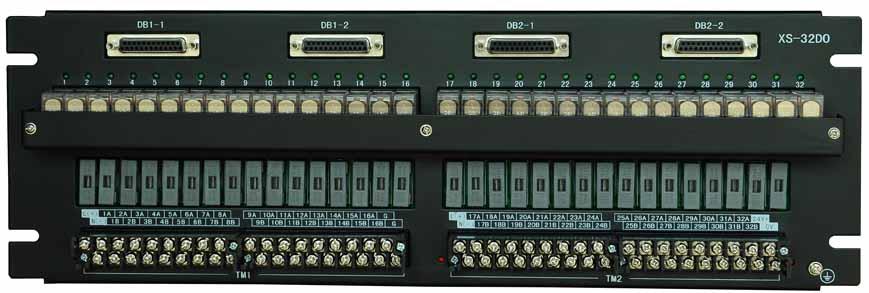 西门子接线端子板—32路继电器输出端子板