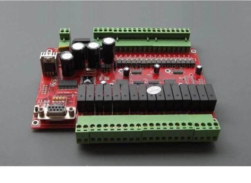 """易控王板式PLC简介 东莞昕睿科技发展有限公司是集机电产品开发、生产、销售为一体的高科技企业,多年从事可编程控制器板式PLC的开发与研制。 公司现主要产品为易控王""""EX1S""""、""""FX1S""""、""""FX2N""""板式PLC系列可编程控制器,功能强大,性能可靠,完全可以与国外产品相媲美,价格仅为进口产品的三分之一左右,具有极高的性价比。产品广泛应用于数控机床、激光雕刻、电脑绣花、纺织印刷、包装机械、标记机、雕刻机、绕线机械、坐."""