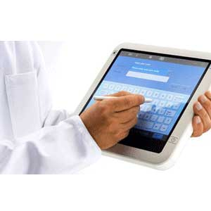 办公平板电脑排行榜_平板电脑办公的商务男士图片素材编号2014