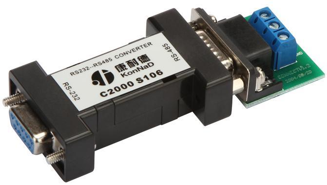 rs485串口_C2000 S106,无源型串口转换器,RS232转RS485,232转485C2000 S106-产品中心 ...