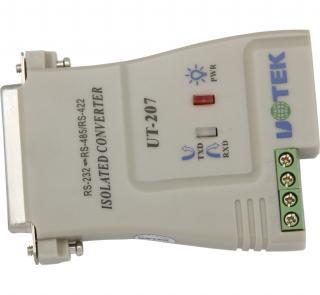 UT-207、高性能RS232到RS485/RS422光电隔离转换器