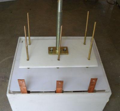 起动柜水箱 液阻柜水箱 高低压水电阻箱