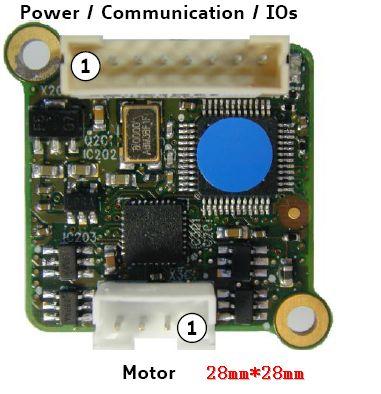 小体积智能高速防丢步485通讯步进控制驱动器【RS485通讯】(防堵转步进)