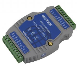 UT-5518 数字量8通道光隔电压输入I/O控制器