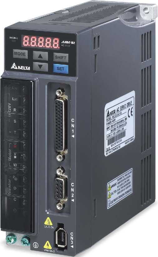 台达交流伺服系统ASDA-B2系列