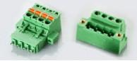 速普 绿色插拔式连接器