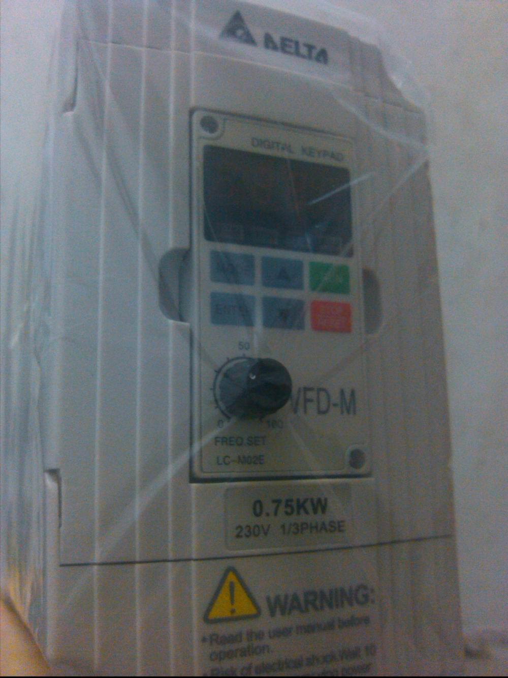 深圳台达变频器M系列单相相0.4KW/220V、VFD004M21A-A