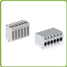 2081系列PCB接线端子-可连接各种类型导线,外型小巧却可承受高达630V的电压