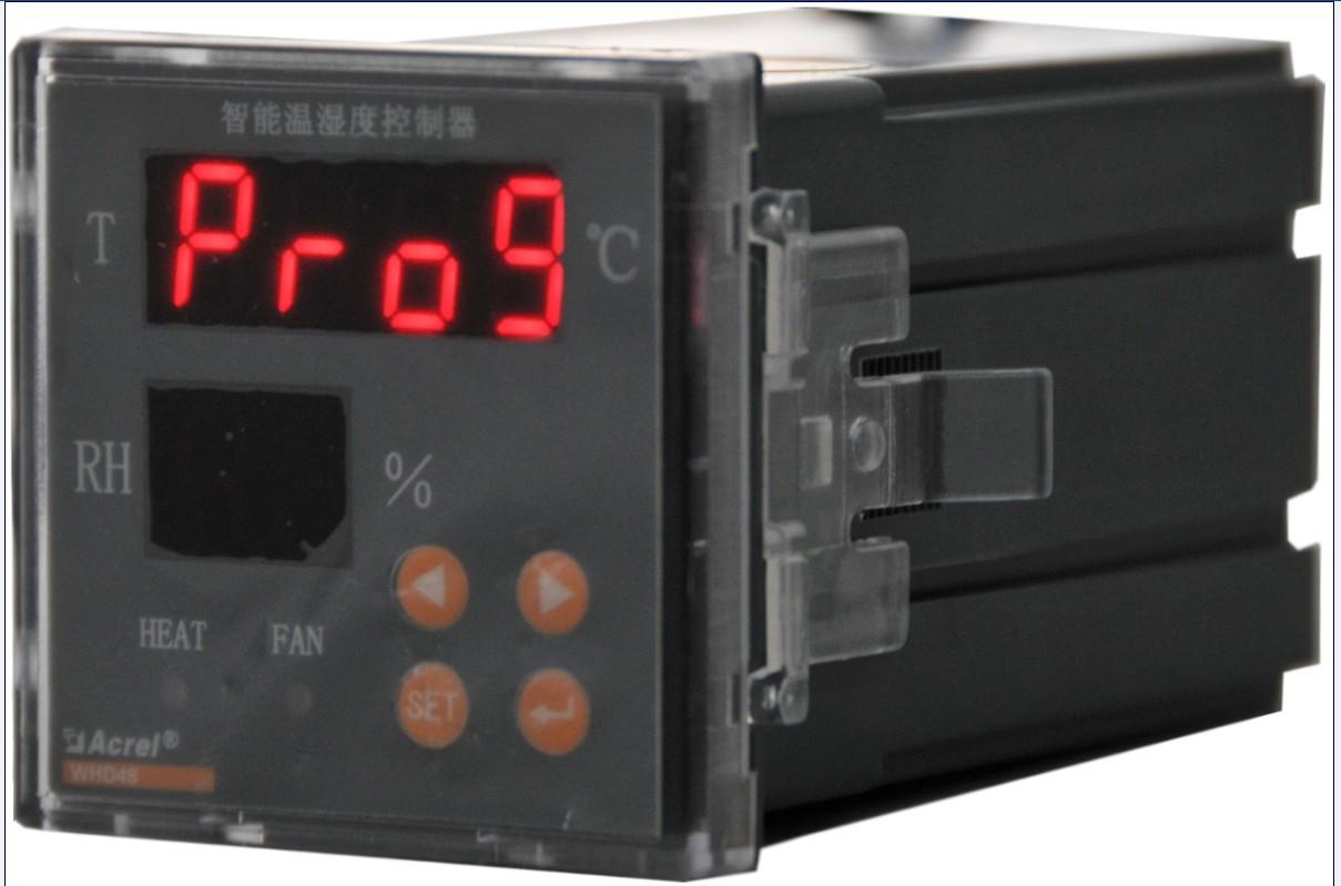 安科瑞中高压开关柜用WH48-11/HF温湿度控制器