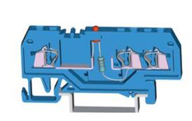 速普 SP 215系列1×2通道发光管端子(中间标记)