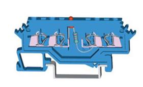 速普 2×2通道发光管端子(侧面标记)