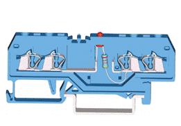 速普 SP 215系列2×2通道发光管端子(中间标记)