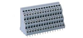 速普SP258三层PCB接线端子排(2焊针直线排列)