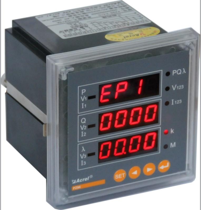 安科瑞PZ72-DE/PZ80-DE数显直流电能表
