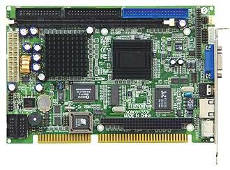 低功耗ISA半长工业CPU卡