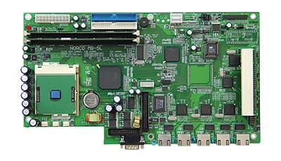 NORCO MB-5L/4L/3L多网口百兆防火墙CPU卡