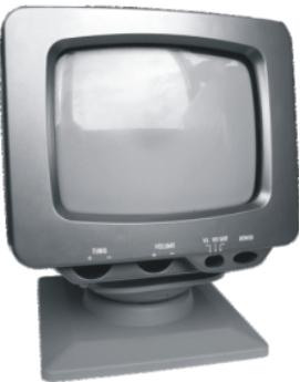 5英寸黑白电视机 井冈山牌木壳12寸黑白电视机 黑白电视机(有图片)