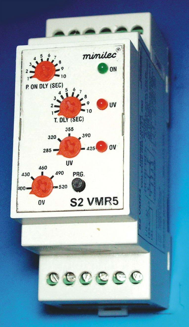 三相四线欠/过电压继电器