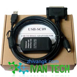 三菱plc编程电缆usb-sc09