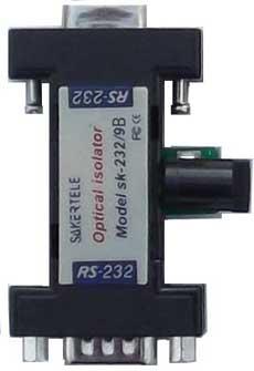 高速有源RS232串口光电隔离器SK-232/9B