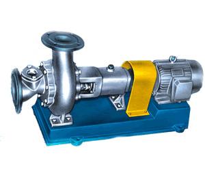 WJ型无堵塞耐腐蚀浆泵、清水泵型号