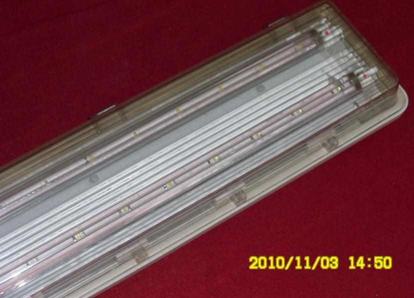 ZY5320低碳全塑荧光灯 BAY85防爆防腐全塑LED荧光灯 LED防爆电器灯具
