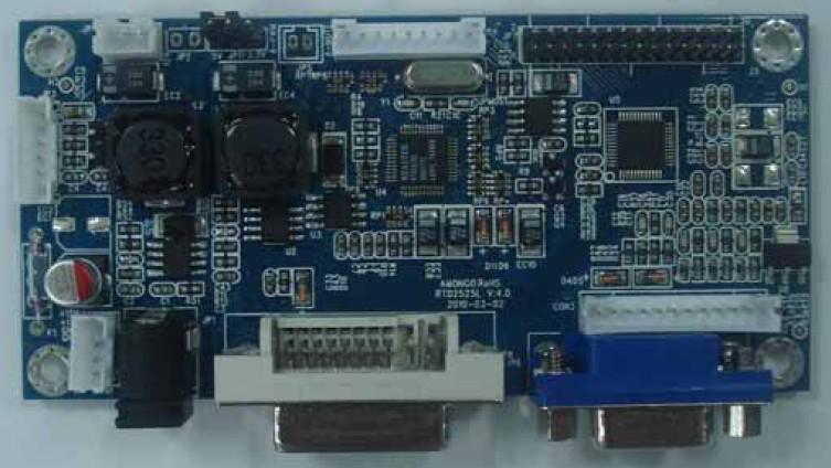 供应:工业级,宽温(-30度—+70度)VGA驱动板