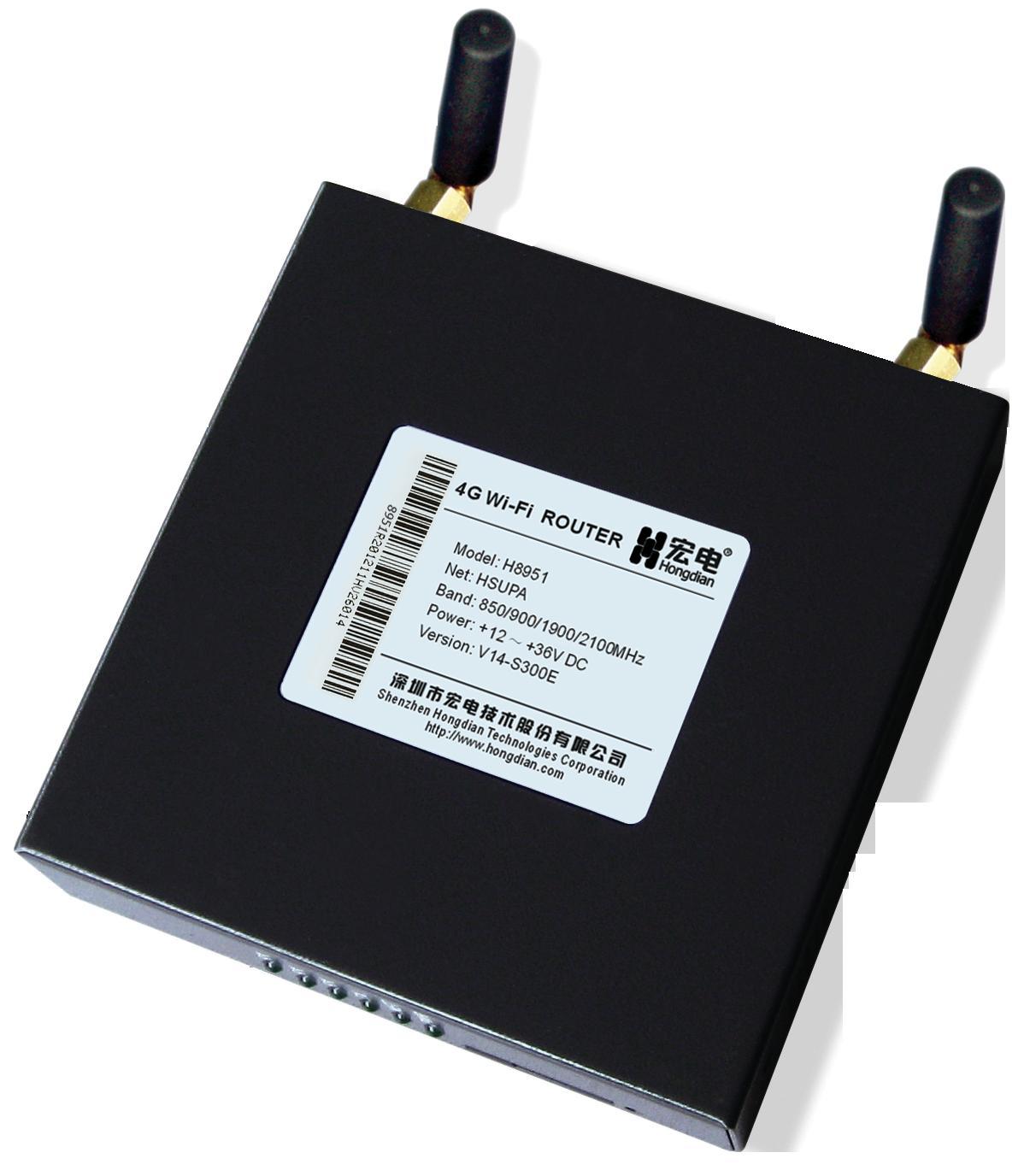 H8951 4G无线路由器支持TDD LTE、FDD LTE等4G网络、HSPA+等3G+网络,支持TD-SCDMA、EVDO、WCDMA等3G网络,同时支持802.11b/g/n,速率最高可达150Mbps。H8951 4G无线路由器采用高性能32位MIPS处理器,基于通用基础平台、模块化设计,内置国内外主流无线3G/3G+/4G LTE模块,采用嵌入式操作系统,并针对无线网络的不稳定性、延时变化较大等特点进行了优化设计,为您提供高速可靠的路由及数据传输功能,支持两个以太网接口,更好的满足自助终端机、广