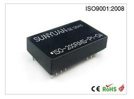 真有效值(RMS)信号隔离放大器_顺源科技