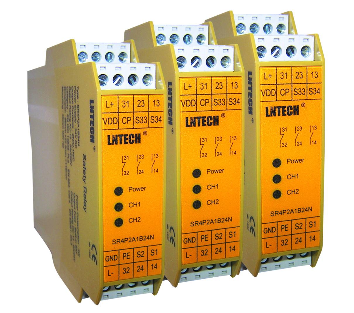 安全继电器SR4P2A1B24,安全门控制器
