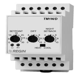 温度控制器 TM1N/D TM1N-24/D REGIN 楼宇自控系统