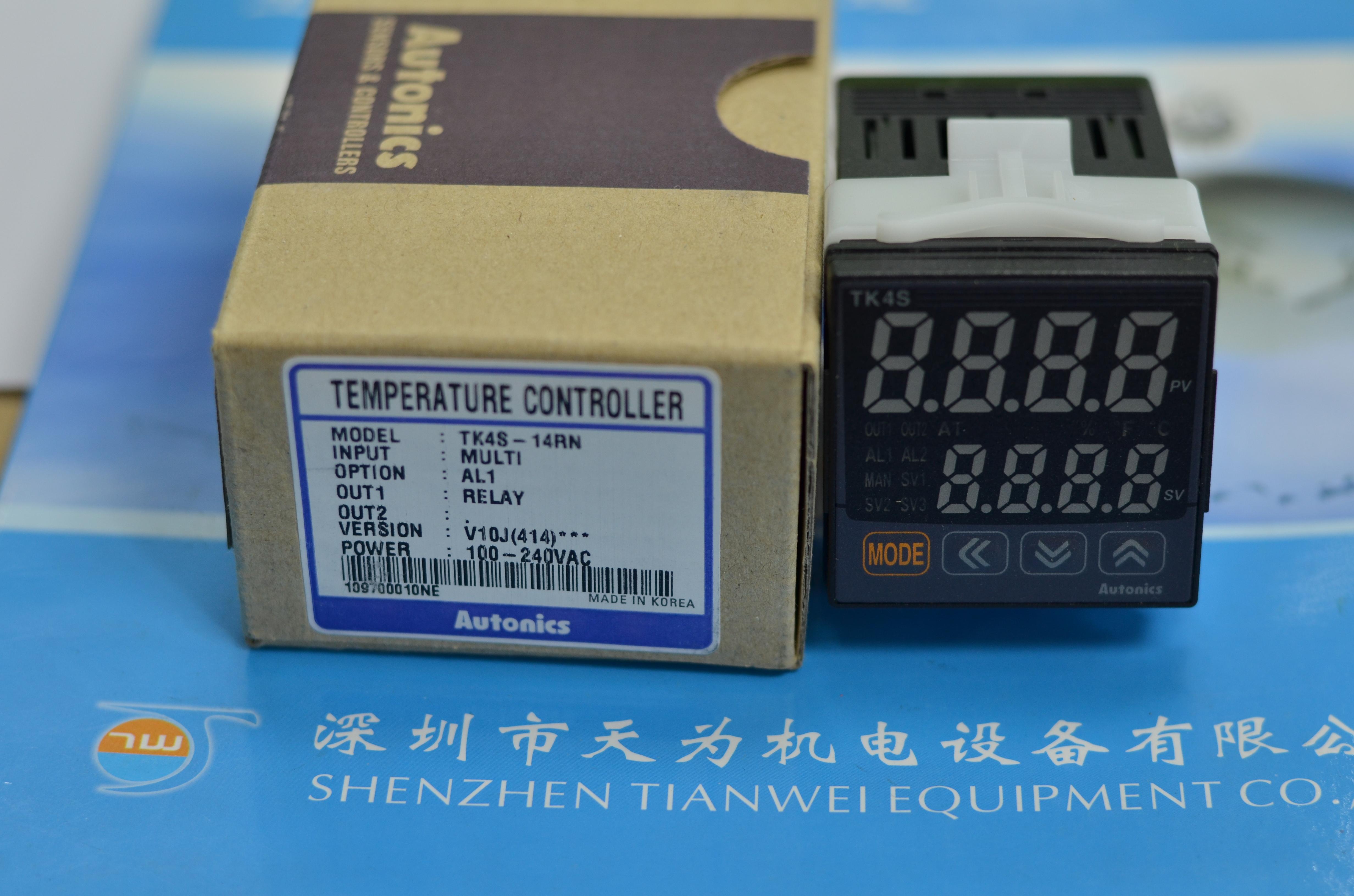 韩国温控器autonics温控器pid温度控制器tk4s-14rn