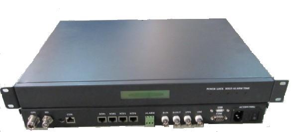 GPS北斗双系统时间同步服务器