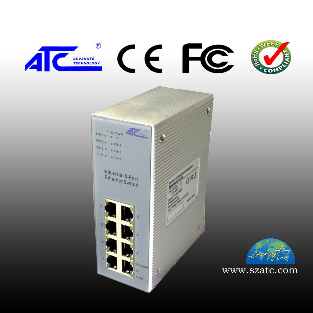 ATC-408 8口管理型工业以太网交换机
