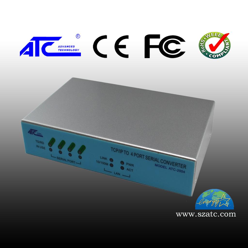 ATC-2004 10/100 四口 TCP/IP转RS-232/485/422