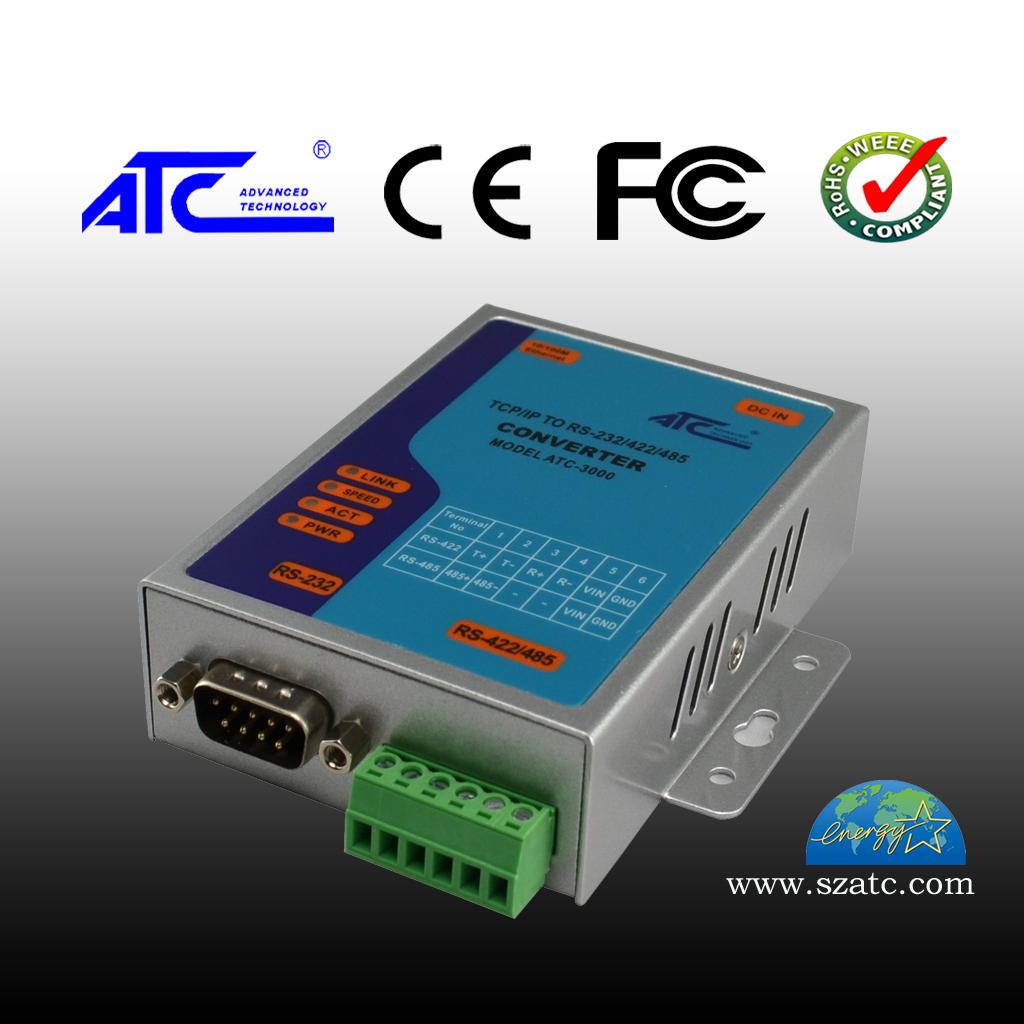 ATC-3000 10/100 TCP/IP转RS-232/485/422