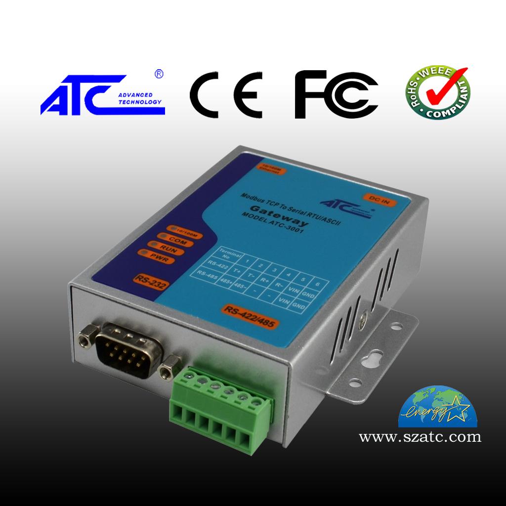 ATC-3001 工业级单口MODBUS网关