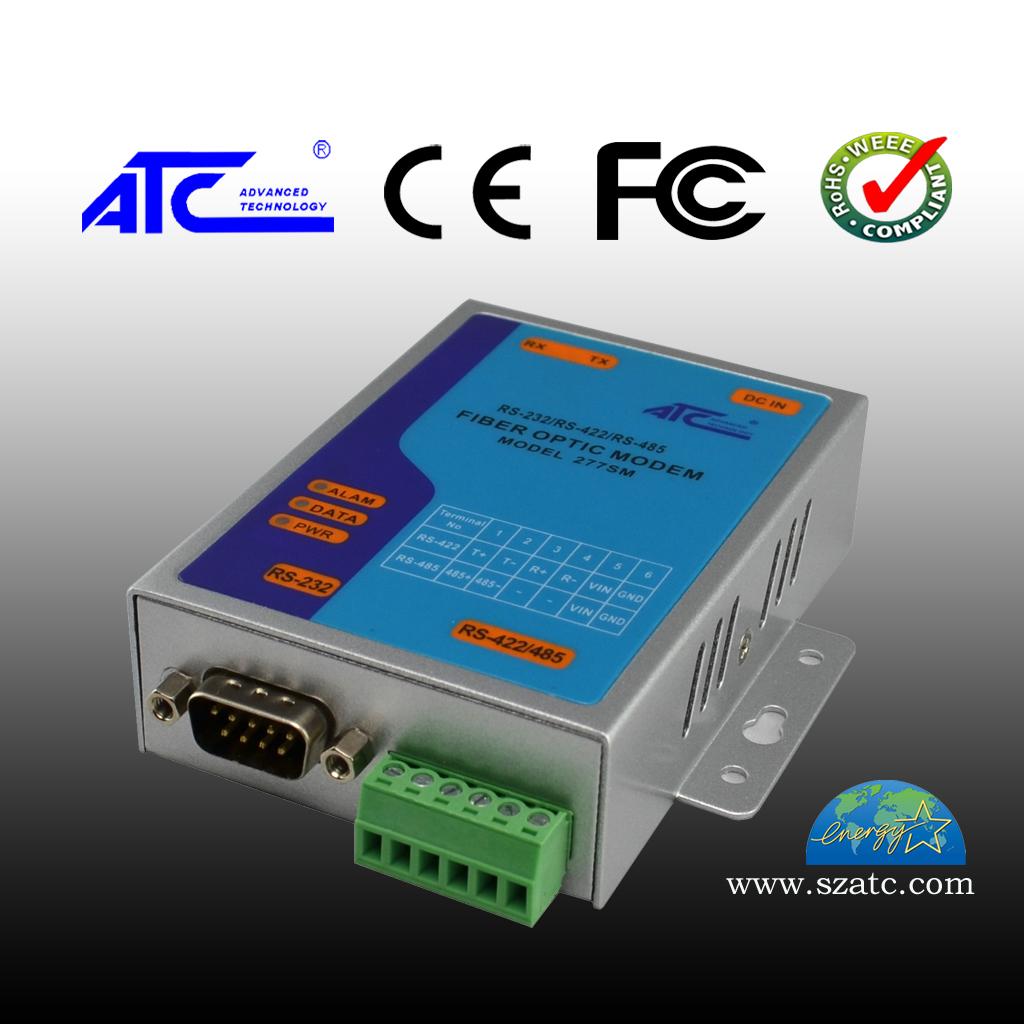 ATC-277SM RS-232/RS-422/RS-485单模光纤MODEM
