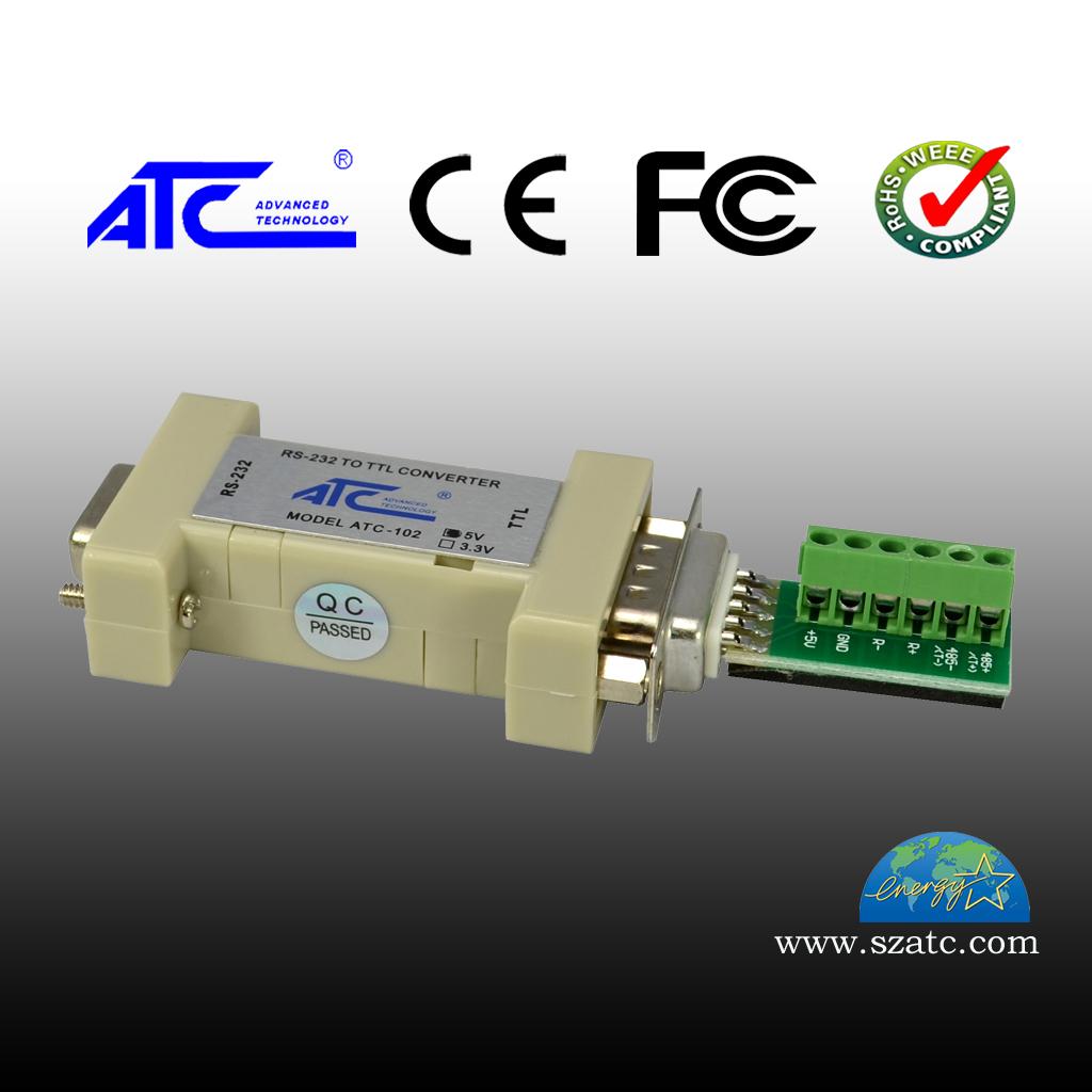 ATC-102-5V 无源RS-232到TTL转换器