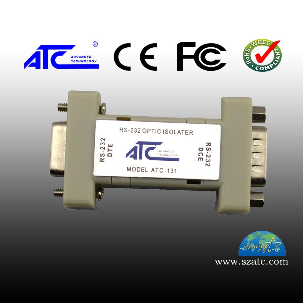 ATC-131 RS-232 DB9 光电隔离器