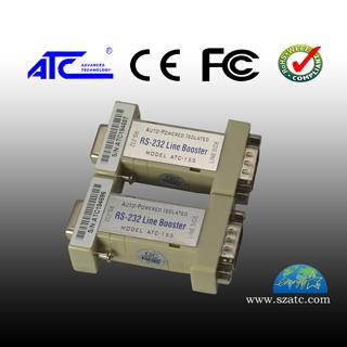 ATC-155 RS-232 DB9 光隔离长线收发器 延长器