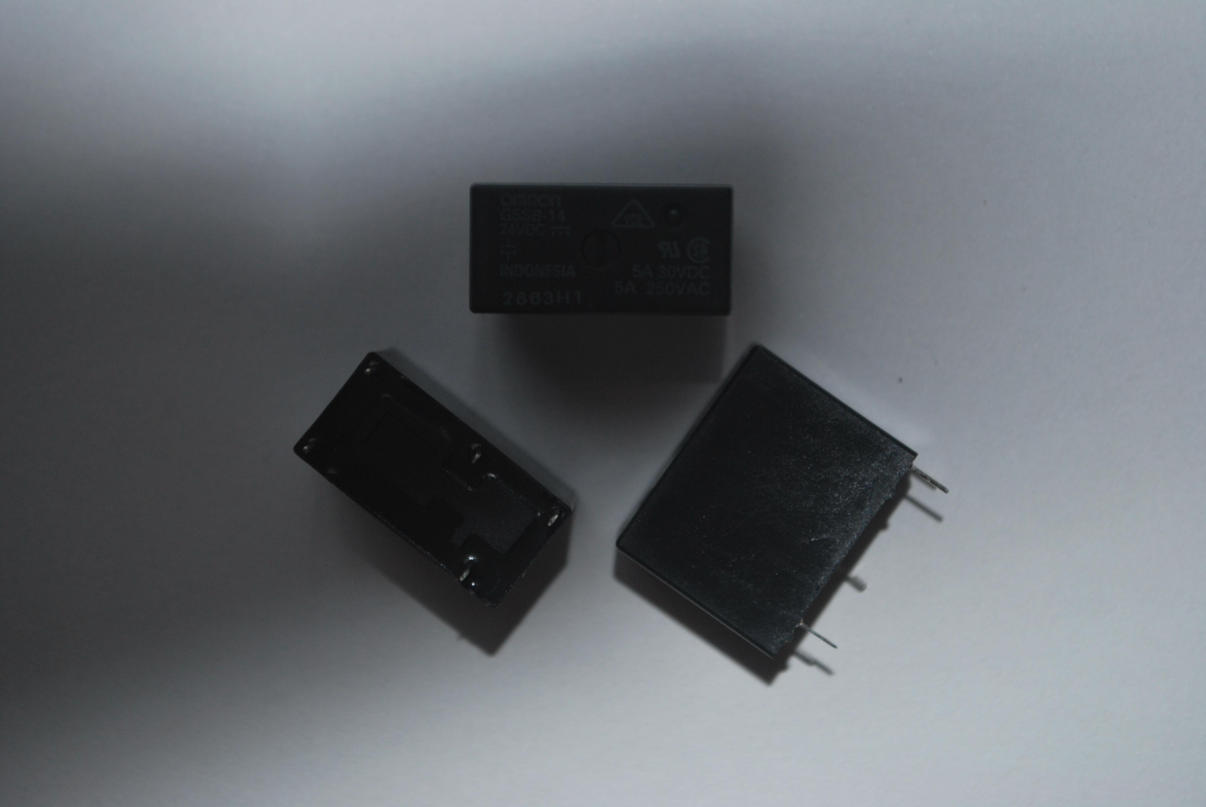 欧姆龙继电器g5sb-14-24v