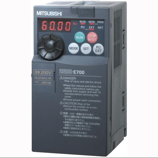 三菱变频器FR-E720-0.1K 工程专用变频器