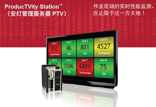 红狮ProducTVity Station  TM(安灯管理服务器PTV)