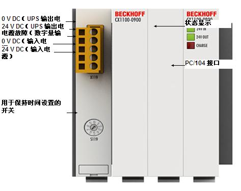 倍福 CX1100-09x0 | UPS 模块