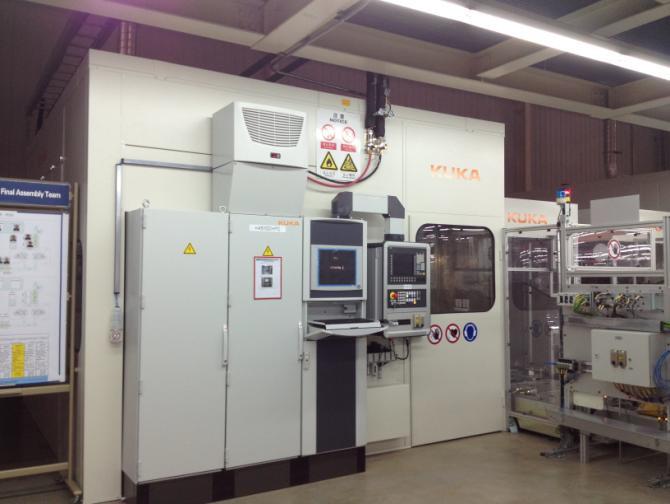 库卡发动机冷试台架