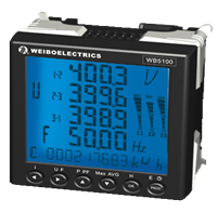 快速测控谐波智能电力仪表