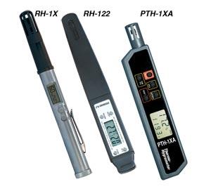 便携式检测器用于检测温度和相对湿度