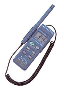 带有数据记录功能的手持式温度/湿度计
