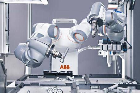 ABB推出面向未来的人机协作产品:YuMi 双臂机器人